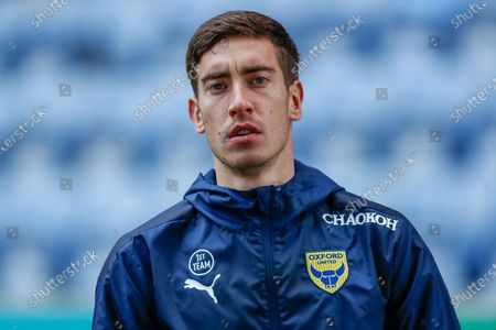 Oxford United FC Midfielder Alex Rodriguez Gorrin (6) half body single player portrait before the EFL Sky Bet League 1 match between Wigan Athletic and Oxford United at the DW Stadium, Wigan
