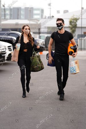 Stock Picture of Jenna Johnson and Nev Schulman