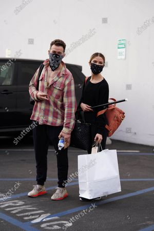 Editorial photo of 'Dancing with the Stars' TV show rehearsal, Los Angeles, USA - 20 Nov 2020
