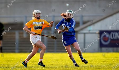 Editorial photo of Liberty Insurance All-Ireland Intermediate Camogie Championship Semi-Final, Inniskeen Grattan GAA, Co. Monaghan - 21 Nov 2020