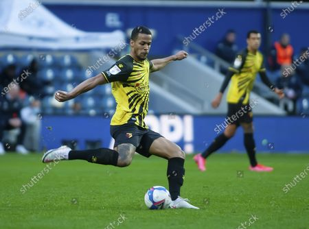 William Troost-Ekong  of Watford clears the ball
