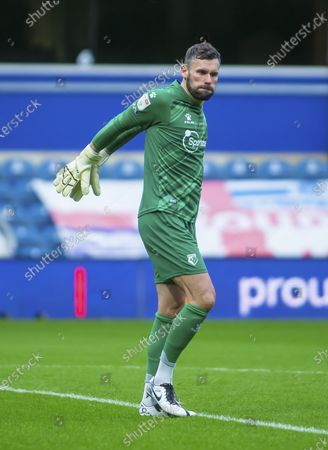 Ben Foster of Watford stretches at the start of the game