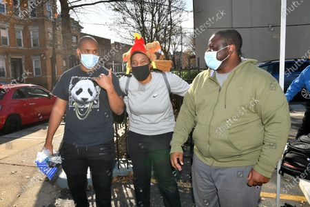 Editorial image of Thanksgiving Palooza, New York, USA - 21 Nov 2020