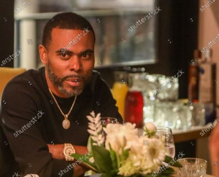 Lil Duval attends dinner at Apt 4B