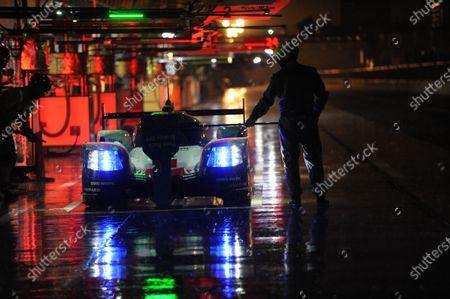 Stock Image of 2017 FIA World Endurance Championship, 31st March - 2nd April, 2017, Monza Prologue, Neel Jani (CHE) \ Andr? Lotterer (DEU) \ NickTandy (GBR) - PORSCHE LMP TEAM - Porsche 919 Hybrid World Copyright: JEP/LAT Images.