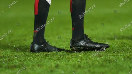 Boots worn by Justin Tipuric of Wales