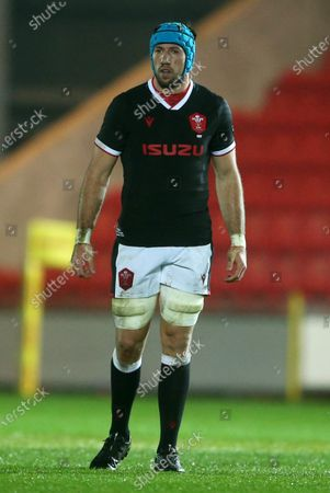 Stock Image of Justin Tipuric of Wales.
