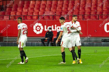 Editorial picture of Soccer: LaLiga  - Sevilla Futbol Club v Celta de Vigo, Spain - 21 Nov 2020