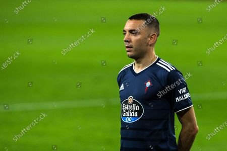 Iago Aspas of Celta during LaLiga, football match played between Sevilla Futbol Club and Real Club Celta de Vigo at Ramon Sanchez Pizjuan Stadium on November 21, 2020 in Sevilla, Spain.
