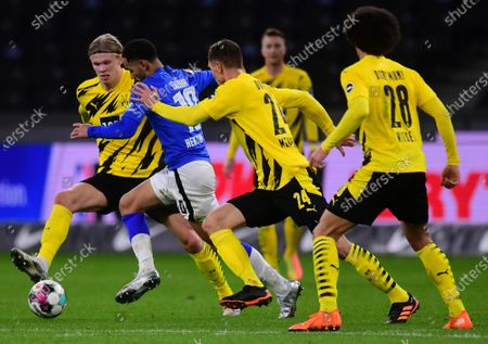 Editorial image of Hertha BSC Berlin vs. Borussia Dortmund, Germany - 21 Nov 2020