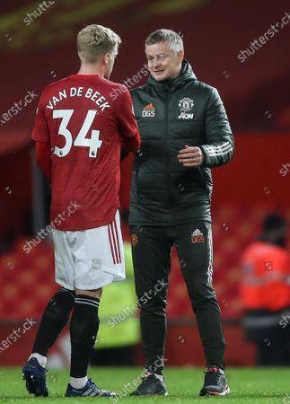 Editorial photo of Manchester United vs West Bromwich Albion, United Kingdom - 21 Nov 2020
