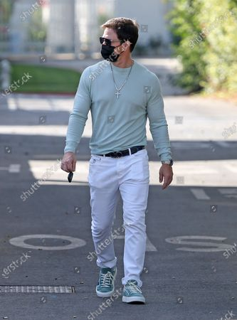 Stock Picture of Mark Wahlberg in Beverly Hills