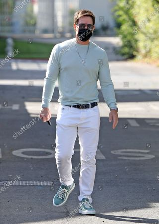 Stock Image of Mark Wahlberg in Beverly Hills