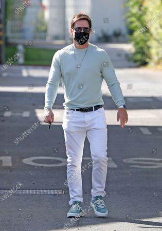 Stock Photo of Mark Wahlberg in Beverly Hills