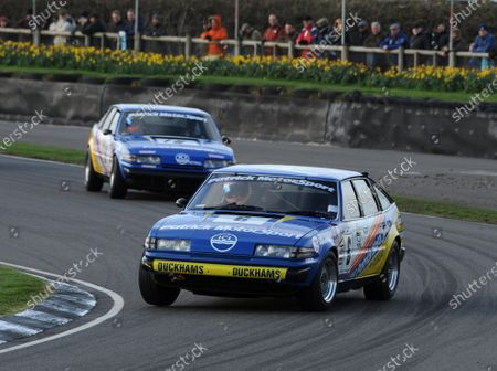 2017 75th Members Meeting Goodwood Estate, West Sussex,England 18th - 19th March 2017 Gerry Marshall Sprint Chris Ward Stuart Hall Rover World Copyright : Jeff Bloxham/LAT Images Ref : Digital Image