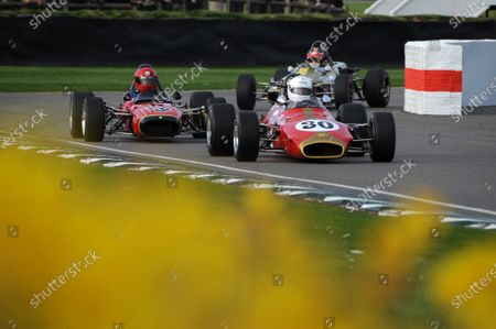 2017 75th Members Meeting Goodwood Estate, West Sussex,England 18th - 19th March 2017 Derek Bell Cup Clas Muller Brabham BT28 World Copyright : Jeff Bloxham/LAT Images Ref : Digital Image