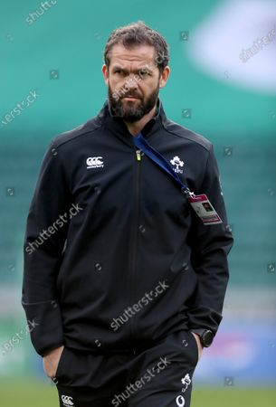 Stock Picture of Andy Farrell the Ireland coach