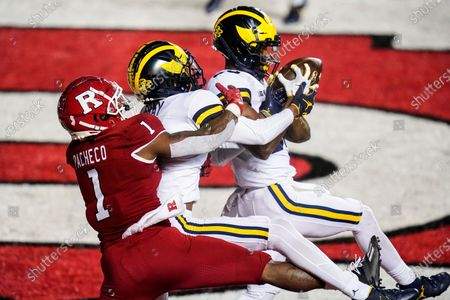 Editorial picture of Michigan Rutgers Football, Piscataway, United States - 22 Nov 2020