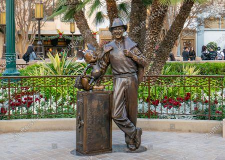Editorial image of Disneyland Resort and Downtown Disney, Anaheim, California, USA - 21 Nov 2020