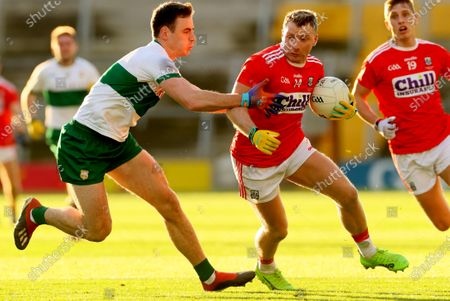 Cork vs Tipperary. Tipperary's Alan Campbell and Brian Hurley of Cork