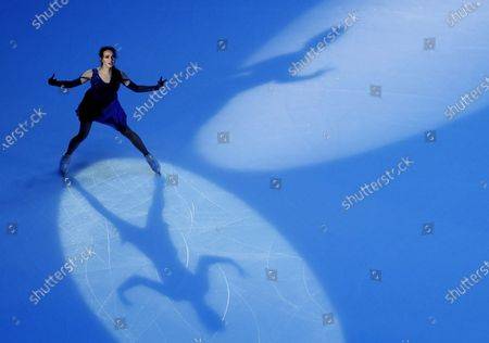 Alina Zagitova of Russia performs during the Exhibition program at the 2020 Rostelecom Cup of Russia ISU Grand Prix of Figure Skating in Moscow, Russia, 22 November 2020.