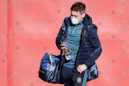 Stock Picture of Cork vs Tipperary. Tipperary's Bill Maher arrives