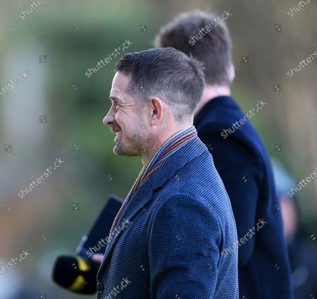 Stock Image of Ospreys vs Benetton Rugby. Premier Sports' pundit Shane Williams