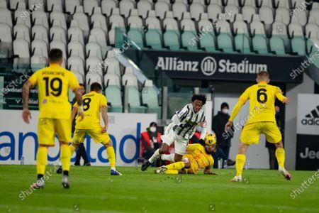 Juan Cuadrado of Juventus