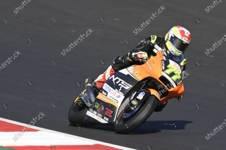 ALGARVE INTERNATIONAL CIRCUIT, PORTUGAL - NOVEMBER 22: Dominique Aegerter, RW Racing GP during the Algarve at Algarve International Circuit on November 22, 2020 in Algarve International Circuit, Portugal. (Photo by Gold and Goose / LAT Images)