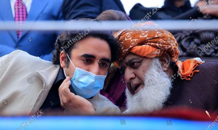 Editorial photo of PDM anti-government protest in Peshawar, Pakistan - 22 Nov 2020