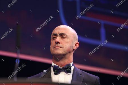 2016 Autosport Awards.  Grosvenor House Hotel, Park Lane, London. Sunday 4 December 2016.  David Brabham. World Copyright: Jed Leicester/LAT Images.