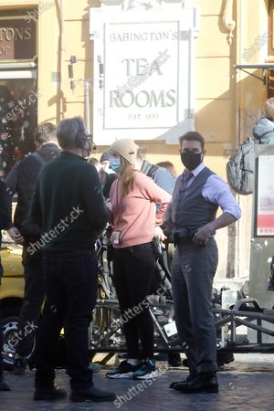 Editorial photo of 'Mission Impossible 7 - Libra' on set filming, Rome, Italy - 22 Nov 2020