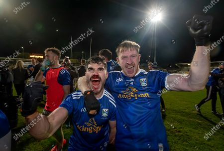 Cavan vs Donegal. Conor Smith and Chris Conroy celebrate beating Donegal in the Ulster Football Final