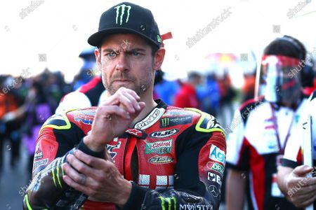 ALGARVE INTERNATIONAL CIRCUIT, PORTUGAL - NOVEMBER 22: Cal Crutchlow, Team LCR Honda during the Portuguese GP at Algarve International Circuit on November 22, 2020 in Algarve International Circuit, Portugal. (Photo by Gold and Goose / LAT Images)