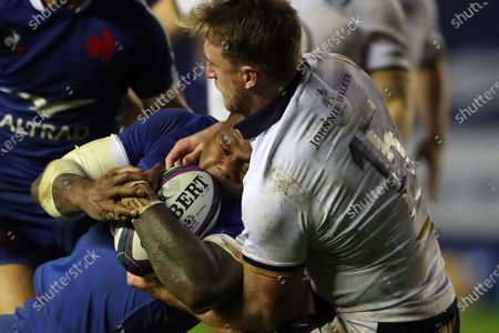 Editorial photo of Scotland France Nations Cup Rugby, Edinburgh, United Kingdom - 22 Nov 2020