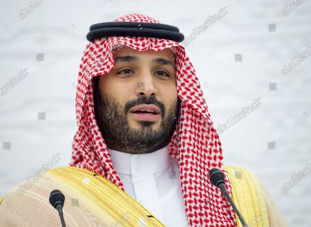 A handout photo made available by G20 Riyadh Summit shows Saudi Arabia's Crown Prince Mohammed bin Salman bin Abdulaziz addressing a session of the second day of the G20 Riyadh Summit, Riyadh, Saudi Arabia, 22 November 2020. The G20 Leaders' Summit will be held virtually on 21 and 22 November and is organized by Saudi Arabia's current G20 Presidency.