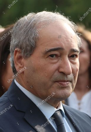 Stock Photo of Syrian Deputy-Foreign Minister Faisal Mekdad attends the funeral of late Foreign Minister Walid al-Moallem in Damascus, Syria, 16 November 2020 (issued 22 November 2020). Syrian President Bashar Al-Assad issued on 22 November 2020 three decrees appointing Mekdad as new Foreign Minister replacing Walid al-Moallem who died last week, and appointing Bashar Al-Jaafari as Deputy Foreign and Expatriates Minister and transferring Ambassador Bassam Al-Sabbagh to the permanent delegation in New York and accrediting him as Syria's Permanent Representative at the UN.