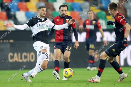 Editorial photo of Udinese vs Genoa, Udine, Italy - 22 Nov 2020