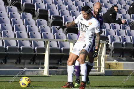 Editorial photo of Soccer: Serie A 2020-2021 : Fiorentina 0-1 Benevento, Firenze, Italy - 22 Nov 2020