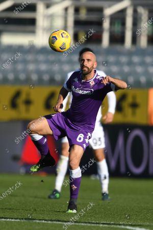"Stock Picture of Borja Valero (Fiorentina)           during the Italian ""Serie A"" match between Fiorentina 0-1 Benevento  at  Artemio Franchi Stadium in Florence, Italy."