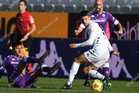 Editorial image of Soccer: Serie A 2020-2021 : Fiorentina 0-1 Benevento, Firenze, Italy - 22 Nov 2020