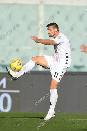 """Christian Maggio (Benevento)           during the Italian """"Serie A"""" match between Fiorentina 0-1 Benevento  at  Artemio Franchi Stadium in Florence, Italy."""