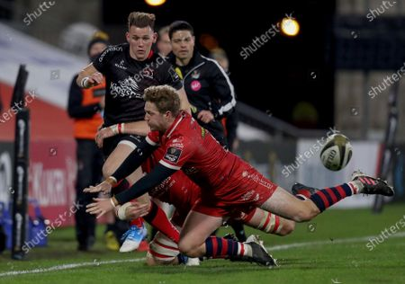 Editorial picture of Guinness PRO14, Kingspan Stadium, Belfast, Northern Ireland - 22 Nov 2020