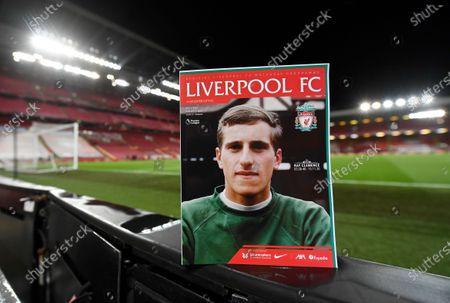 Editorial image of Soccer Premier League, Liverpool, United Kingdom - 22 Nov 2020
