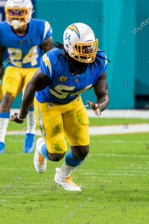 Editorial picture of Chargers Dolphins Football, Miami Gardens, United States - 15 Nov 2020