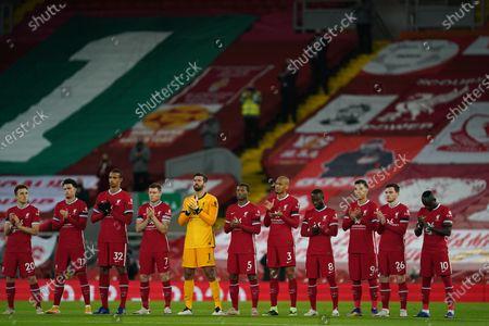 Editorial photo of Liverpool FC vs Leicester City, United Kingdom - 22 Nov 2020
