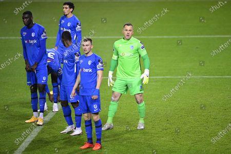 Editorial photo of Soccer Jpl D13 Krc Genk Vs Re Mouscron, Genk, Belgium - 22 Nov 2020