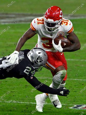 Editorial image of Chiefs Raiders Football, Las Vegas, United States - 22 Nov 2020