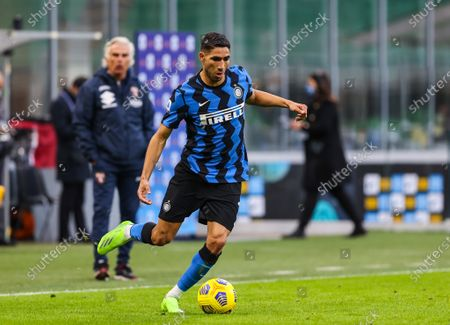 Achraf Hakimi of FC Internazionale