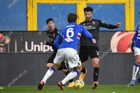 Albin Ekdal (Sampdoria), Roberto Soriano (Bologna)